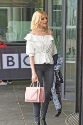 Pixie Lott at BBC Breakfast in London 4/13/2016