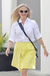 Reese Witherspoon Spring Style - Out in Beverly Hills 4/14/2016