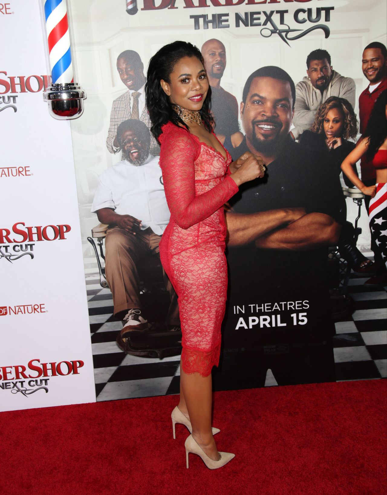 Regina Hall Barbershop The Next Cut Premiere In Hollywood
