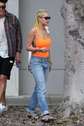 Rita Ora Getting Brunch in West Hollywood, CA 4/5/2016