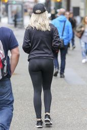 Rita Ora in Tights - Vancouver, April 2016
