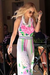 Rita Ora Style - Out in Beverly Hills 3/31/2016