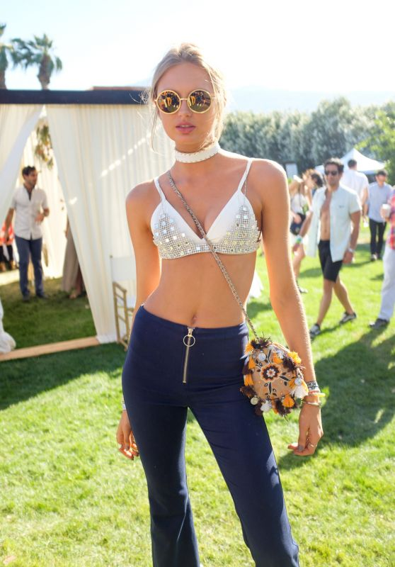 Romee Strijd – Coachella Music Festival in Indio, CA 4/16/2016