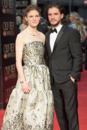 Rose Leslie - 2016 Olivier Awards in London, UK