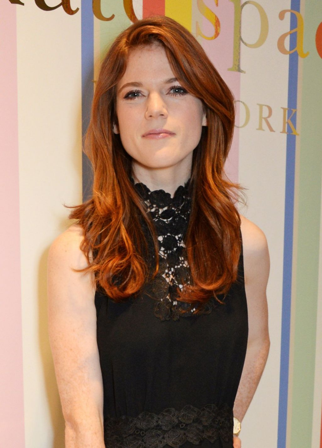 Rose Leslie Kate Spade Store Opening London