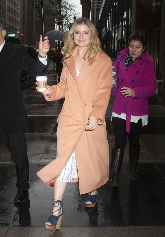 Rose McIver - Out in NYC, April 2016
