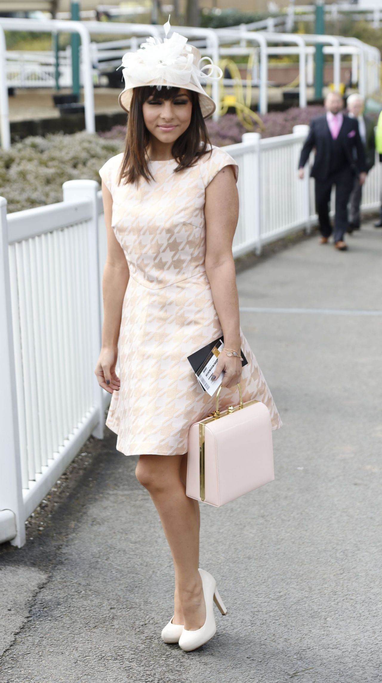 Roxanne Pallett Aintree Racecourse In Aintree Merseyside England 4 9 2016