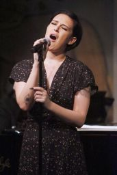Rumer Willis is Performing at The Cafe Carlyle in New York City, April 2016