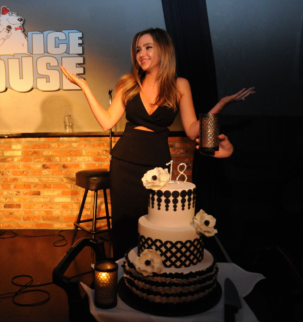 Ryan Newman 18th Birthday at the Ice House Comedy Club in Pasadena