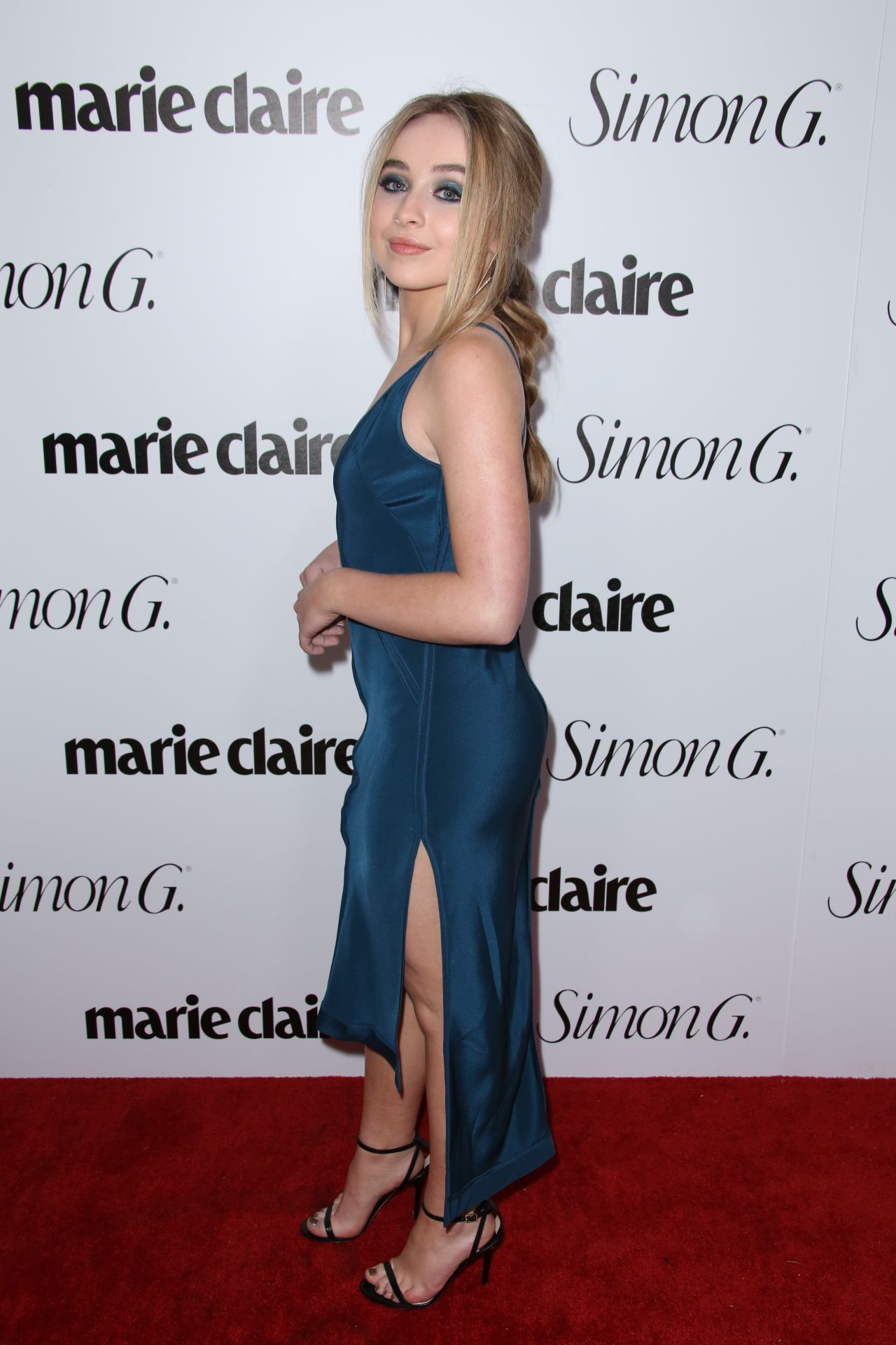 Sabrina Carpenter Marie Claire Fresh Faces Party In