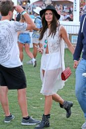 Sara Sampaio – The Coachella Valley Music and Arts Festival 4/15/2016