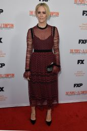 Sarah Paulson – The People v O.J. Simpson Mini Series Finale Red Carpet