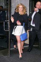 Sasha Pieterse - Leaving Her Hotel in New York City 4/7/2016