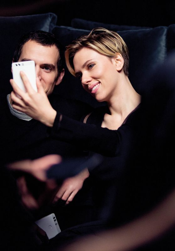 Scarlett Johansson - HUAWEI P9 Ad 2016