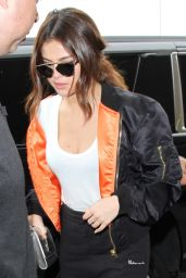 Selena Gomez Airport Style - LAX in Los Angeles, April 2016