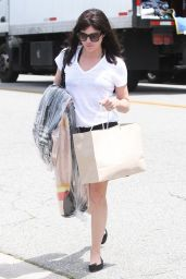 Selma Blair - Shops at Madewell in Beverly Hills 4/26/2016
