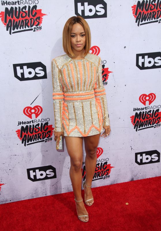 Serayah McNeill – iHeartRadio Music Awards 2016 Red Carpet in Inglewood
