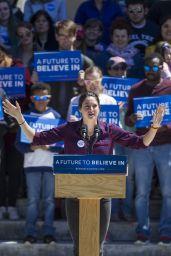 Shailene Woodley - Speaking at a Bernie Sanders Rally in Providence, Rhode Island 4/24/2016