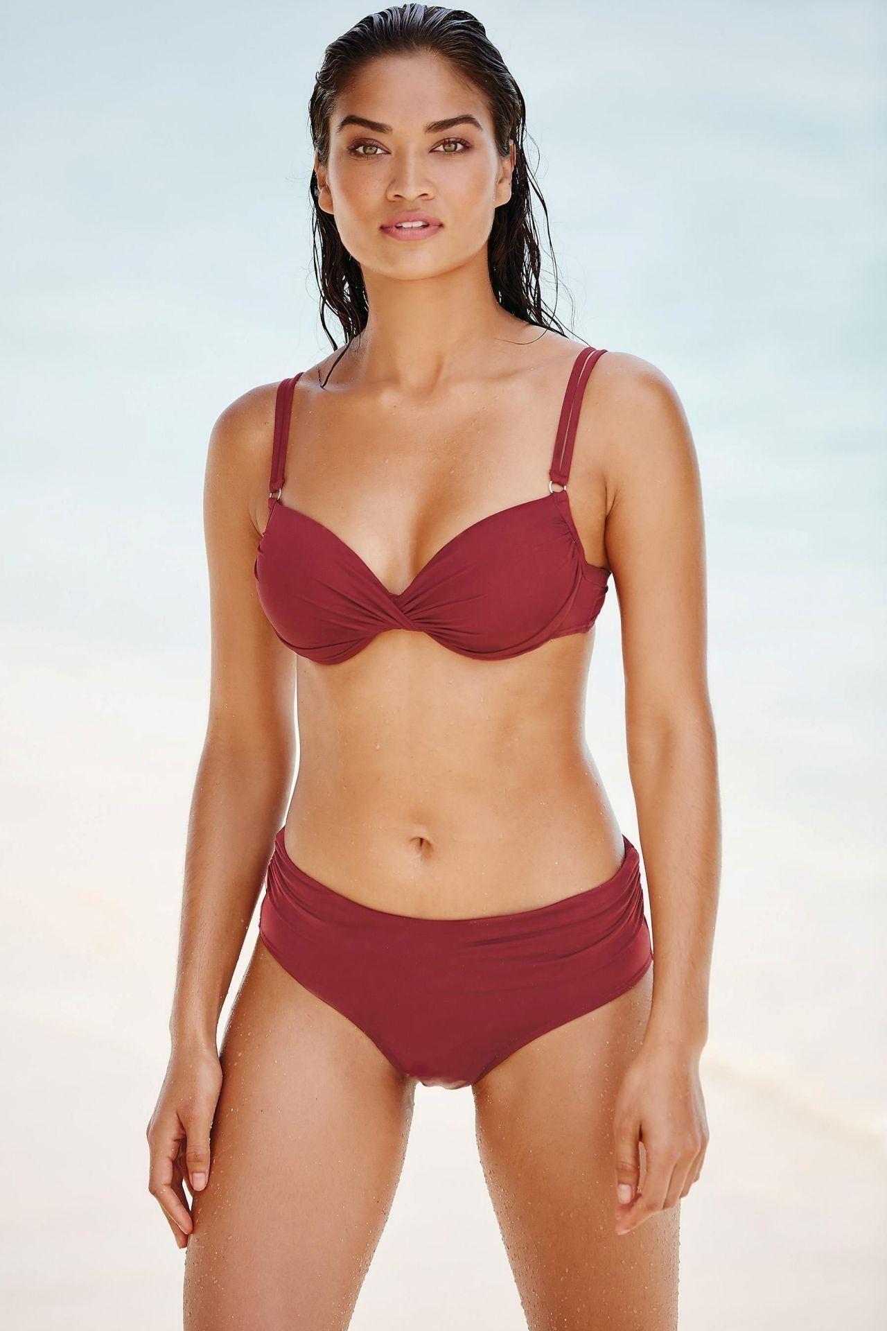 Shanina Shaik with Bikini