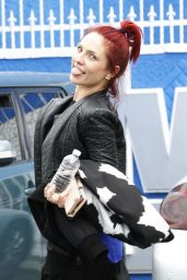 Sharna Burgess - After Sunday Practice at the DWTS Studio in Hollywood 4/10/2016