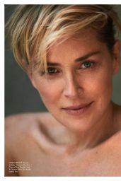 Sharon Stone - Elle Magazine France April 2016 Issue