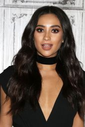 Shay Mitchell - Attends AOL Build to Discuss
