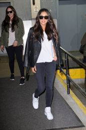Shay Mitchell - Leaving the AOL Studios in New York City 4/25/2016