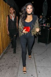 Shay Mitchell Night Out Style - at The Nice Guy in West Hollywood 4/15/2016