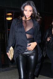 Shay Mitchell Night Out Style - New York City 4/23/2016