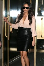 Shay Mitchell Style - at the Today Show in New York City 4/25/2016