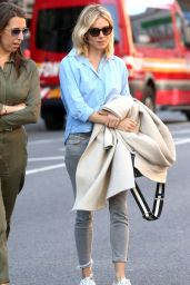 Sienna Miller Street Style - New York City 4/18/2016