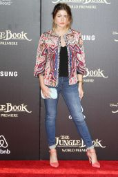 Sofia Reyes – Disney's 'The Jungle Book' Premiere in Hollywood