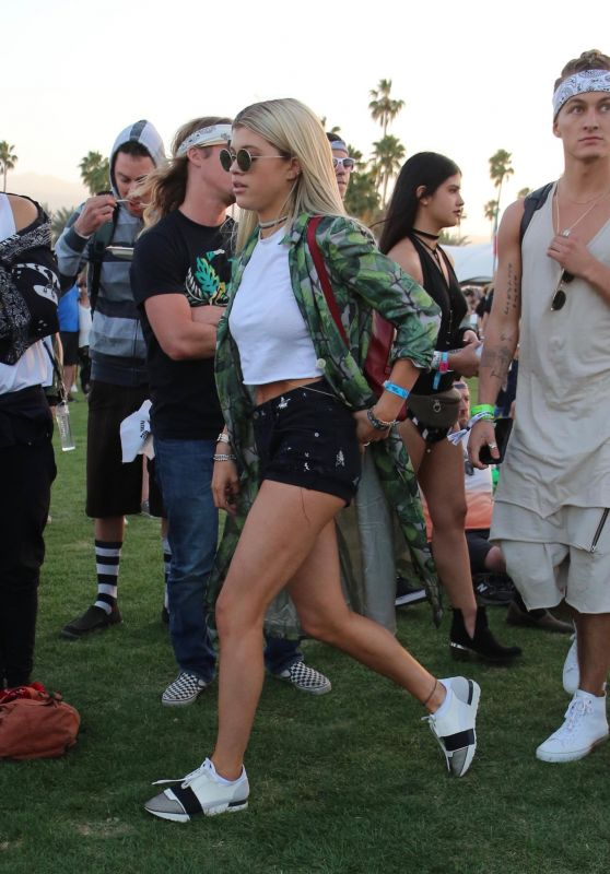 Sofia Richie at Coachella 2016 in Indio 4/15/2016