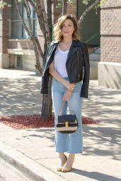 Sophia Bush Casual Outfit - Chicago 4/27/2016