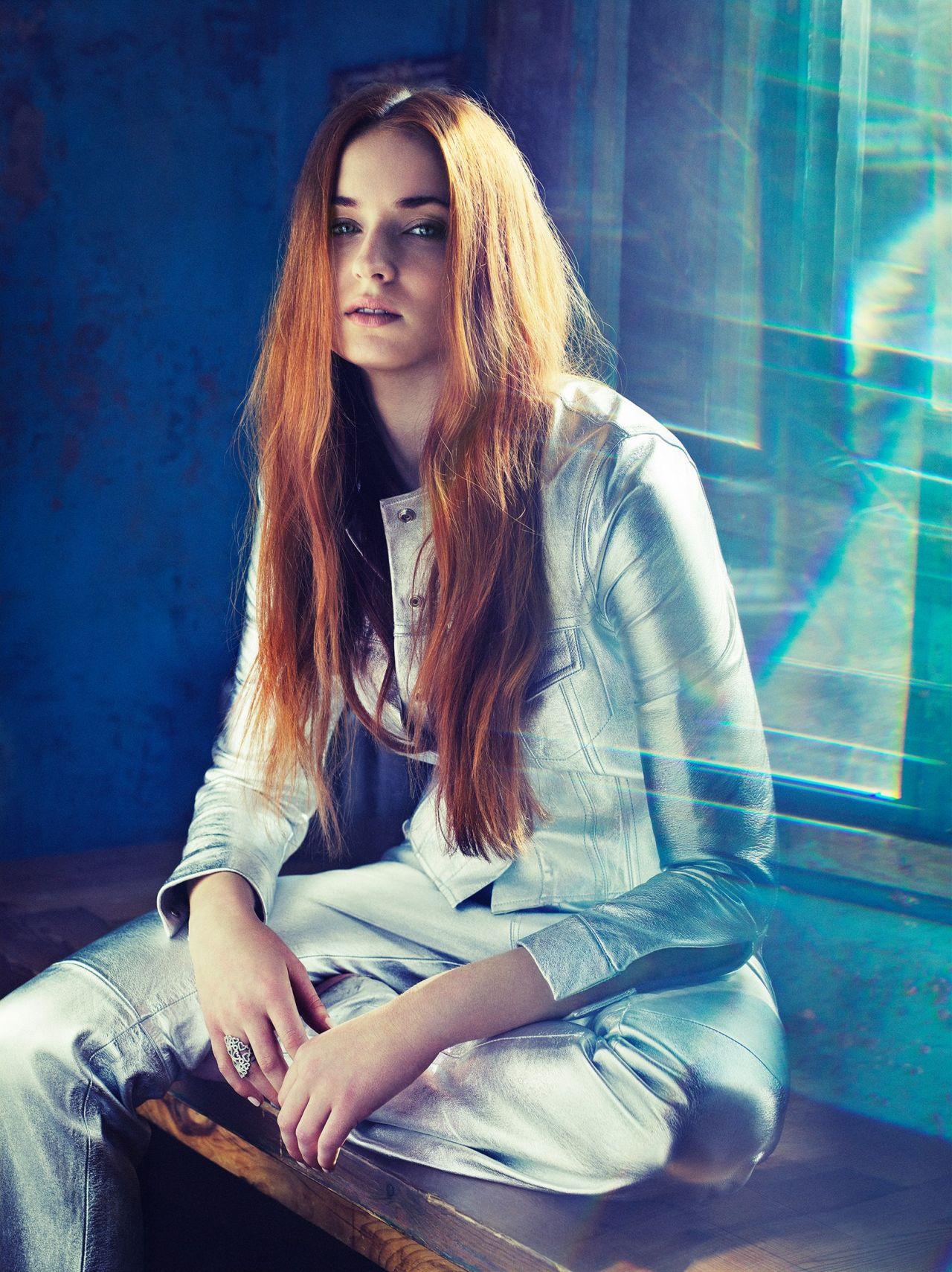 Sophie Turner - Photoshoot For Nylon Magazine April 2016-4256