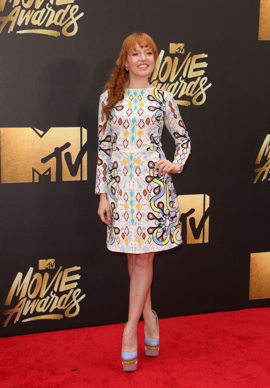 Stef Dawson – 2016 MTV Movie Awards at Warner Bros. Studios in Burbank