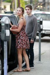 Stefanie Scott at Alfred Coffee in West Hollywood 4/5/2016