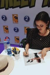 Summer Glau - Middle East Film and Comic Con, Dubai, UAE, April 2016