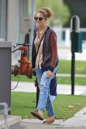 Teresa Palmer - Out in Los Angeles 4/8/2016