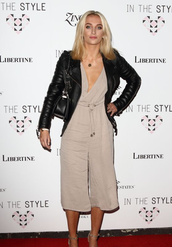 Tiffany Watson – In The Style Clothing Launch at Libertine in London 3/31/2016