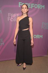 Troian Bellisario – 2016 ABC Freeform Upfront in New York City, NY