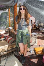 Troian Bellisario - The Retreat at Korakia Pensione Party in Palm Springs 4/16/2016