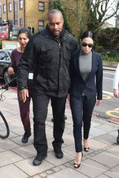 Tulisa Contostavlos Style - Arrives at Highbury Corner Magistrates Court in London 4/4/2016