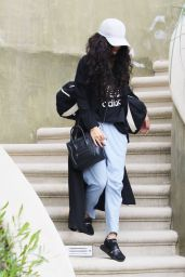 Vanessa Hudgens - Catching a Ride in Los Angeles  4/7/2016