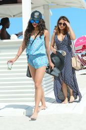 Vanessa Hudgens in a Bikini - Miami, FL 4/8/2016