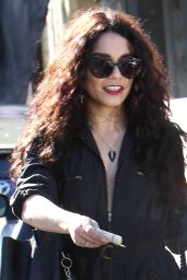 Vanessa Hudgens - Leaving Nine Zero One Salon in West Hollywood 4/2/2016