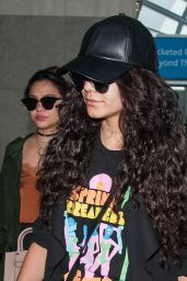Vanessa Hudgens & Stella Hudgens at LAX Airport in LA 4/10/2016