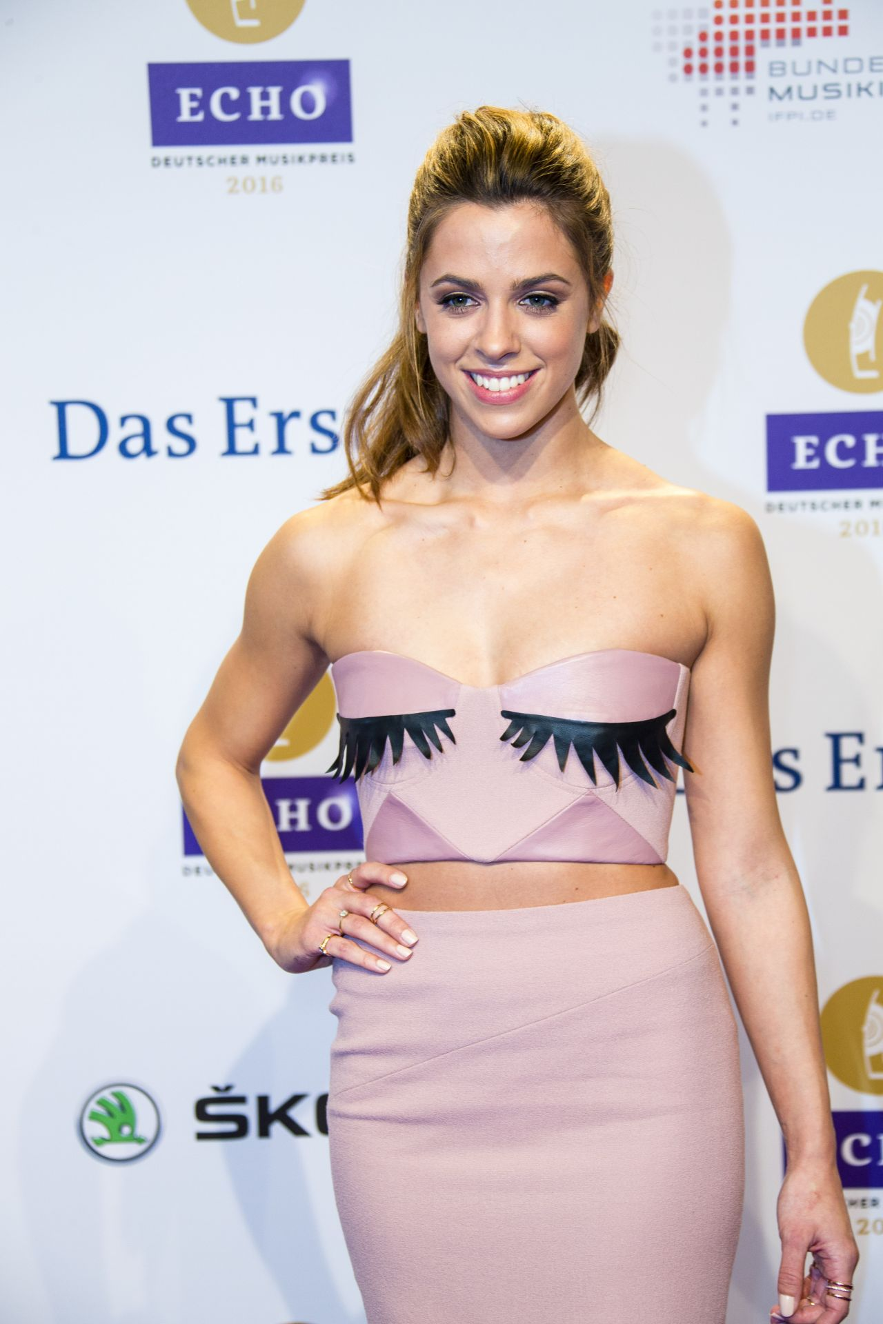 Vanessa Mai 2016 Echo Music Awards In Berlin Germany