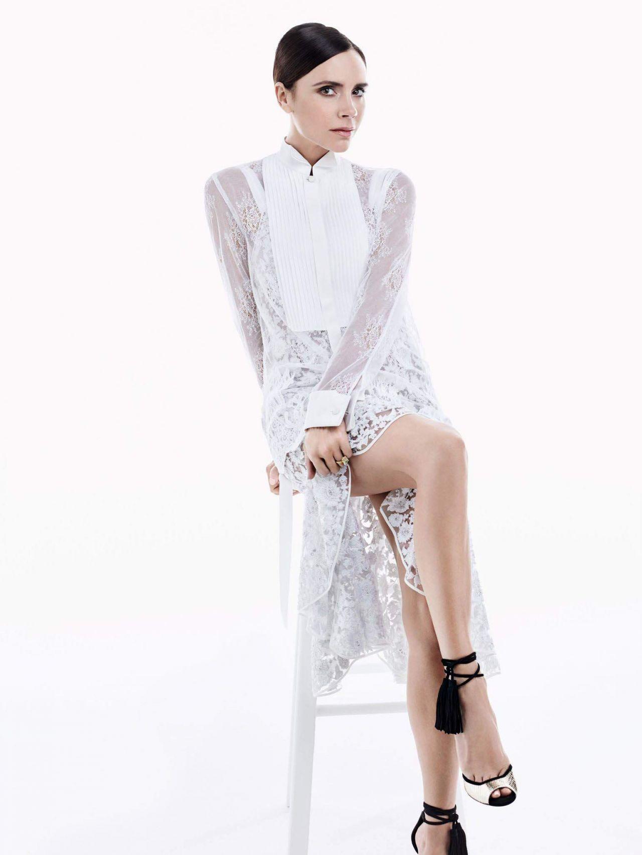 Victoria Beckham - Photoshoot for Vogue China May 2016 ... Victoria Beckham