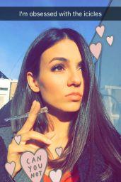 Victoria Justice Social Media Pics, April 5, 2016